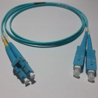 Patch cord Dx MM OM3 2mm LC/PC-SC/PC 1mt